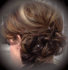 Up-Do for Weddings at the Spa at Bell House